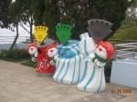 Ocean Park trash cans